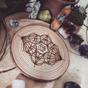 The Third Eye Chakra Crystal Grid
