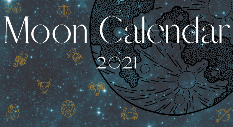 Moon Calendar 2021 - home of empowerment