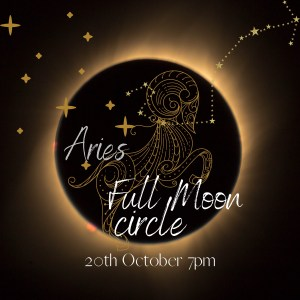 Full Moon in Aries circle 20th October