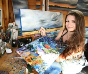 Scottish artist and Wild at Art tutor Kate Cunningham