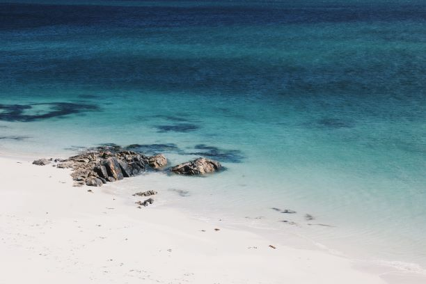 east beach berneray outer hebrides
