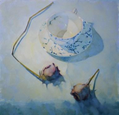 Still life by Scottish painter William Brian Miller