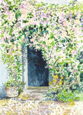 KAC Clematis over the Door-2