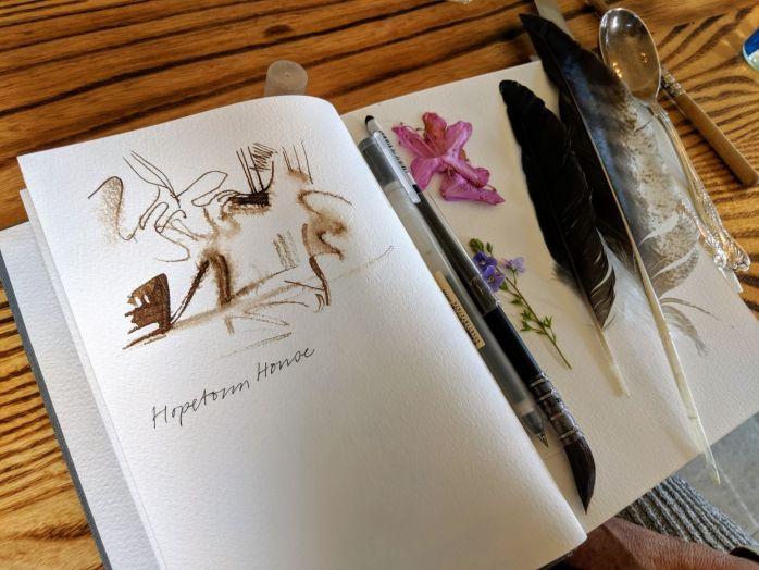 Kirsten's sketchbook