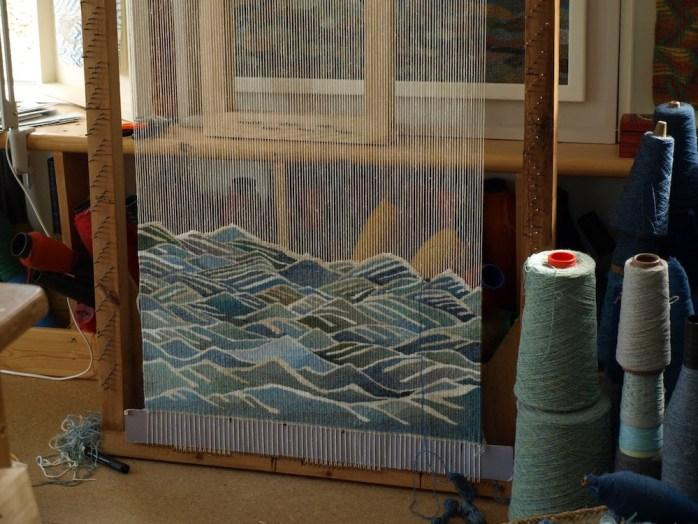Tapestry by Scottish weaver Louise Oppenheimer