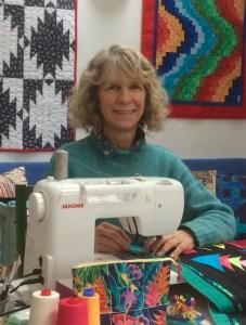 Quilting artist Clare Workman