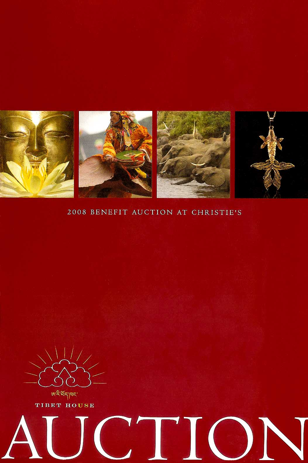 Christie's Auction catalog for Tibet House