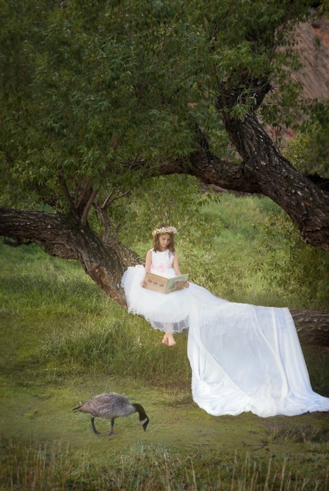 Story Book Composite photo created by Patty Miller Fine Art Photographer at the Wild Beauty Photo Studio in Colorado Springs