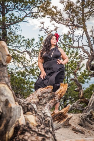 Model Portfolio photography from Wild Beauty Photo in Colorado Springs Taken in Pulpit Rock