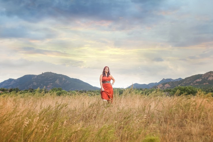 Epic Wild Beauty portrait session at Bear Creek Park in Colorado Springs