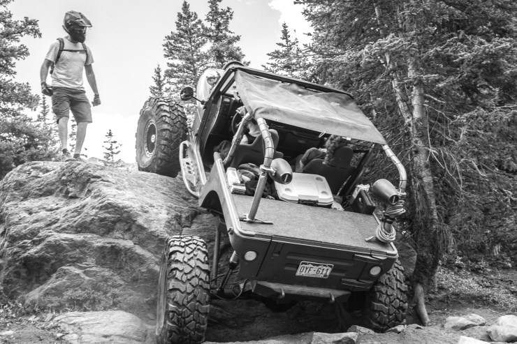 Four wheel/ offload & Jeep trip to Holy Cross Trail Minturn Colorado