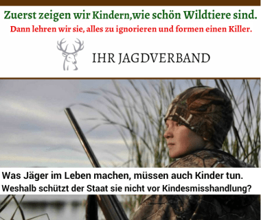 Kindesmisshandlung Jagd