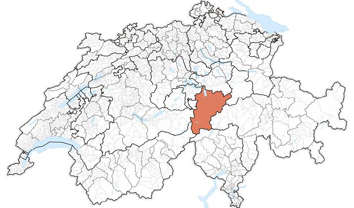 Karte Uri