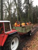 Hobby-Jäger im Müllwagen
