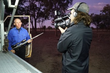 Director and Kangaroo Shooter-®Hopping Pictures