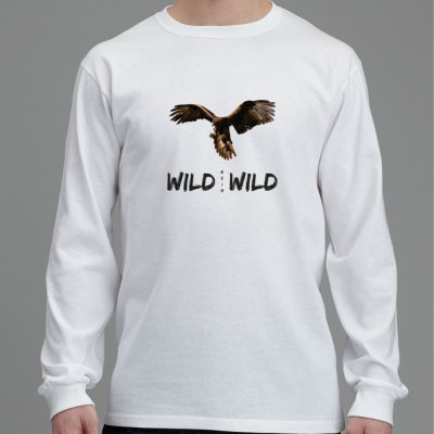 Langärmliges Adler T-Shirt