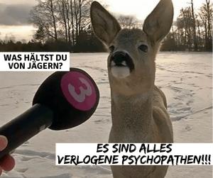 Jäger sind Psychopathen