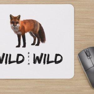 Wild beim Wild Fuchs Mousepad
