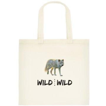 Wolf Tasche klein