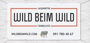 Banner Wild beim Wild