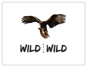 Wild beim Wild Aufkleber Adler