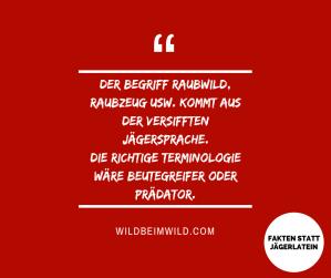 Die Jägersprache ist sowohl für den Alltagsgebrauch als auch im wissenschaftlichen Kontext irrelevant. Sie ist eine Verschandelung der deutschen Sprache. https://wildbeimwild.com/2015/06/24/jagerlatein/