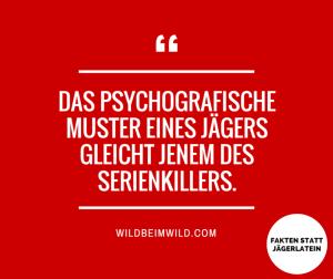 Jagd und Psychologie