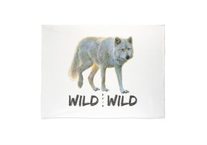 Wild beim Wild Fleecedecke