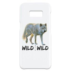 Wild beim Wild Galaxy S 8 Hochglanz-Hülle