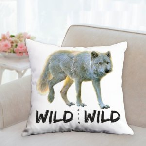 Wild beim Wild Kissen Front