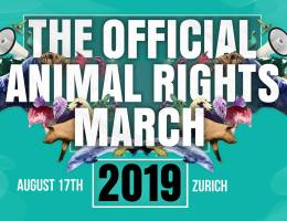 Offical Animal Rights March Zürich