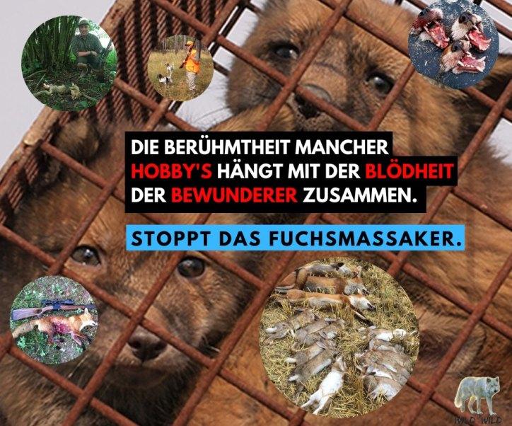 Petition Schliefanlage Schwadernau: Stoppt die Tierquälerei jetzt