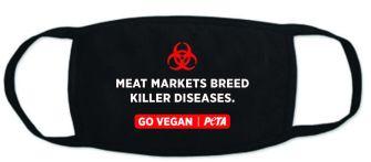 Coronavirus PETA kreiert Atemschutzmasken mit veganer Botschaft