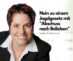 Isabelle Chevalley Nein zu Abschuss nach Belieben