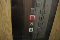 Luckly, there was a lift in our building