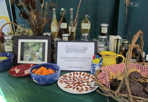 Wild Blessings Table at the Health Fair