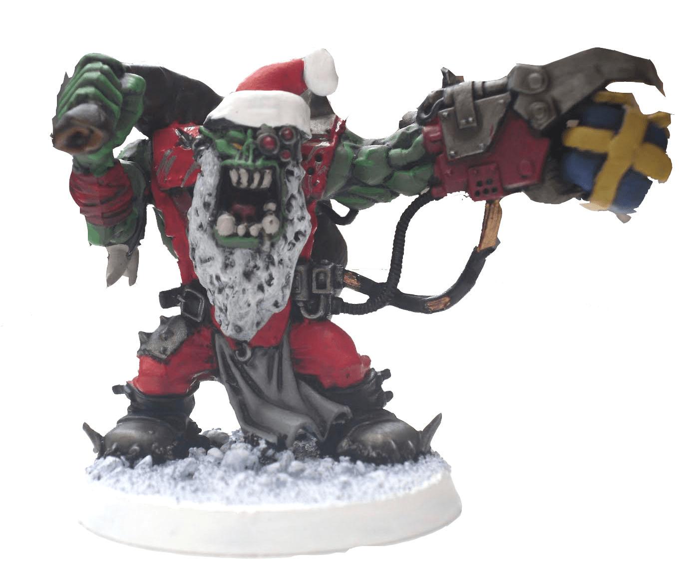 Merry Christmas Fleshlings 40kLore