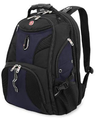 """Swiss Gear Travel Gear 1900 Scansmart TSA Friendly Laptop Backpack 19"""" Blue, laptop bag"""