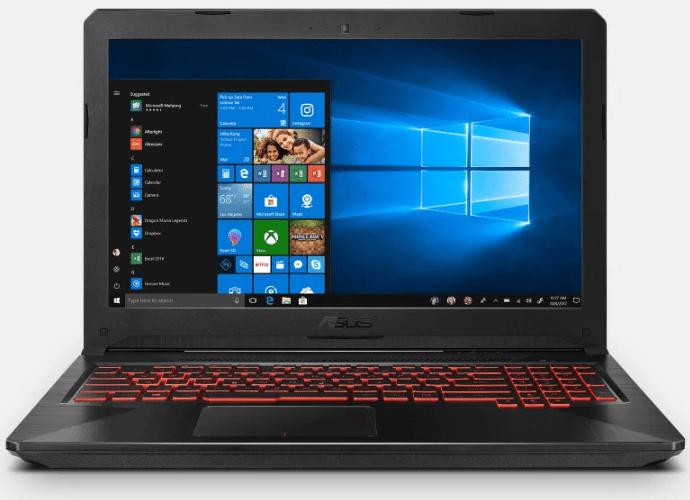 Asus gaming laptops, TUF FX504GE