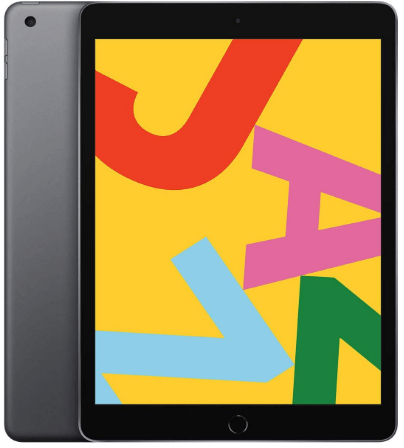 One of the top rated tablets is the Apple iPad 10.2