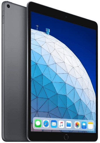 Top rated tablets, the Apple iPad Air 2019
