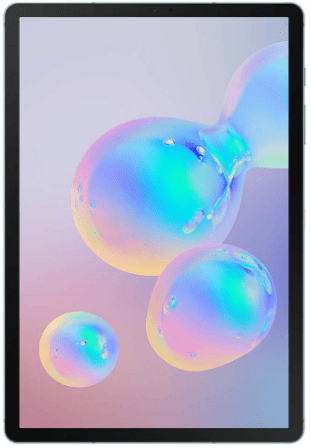 Top rated tablets, the Samsung Galaxy Tab S6