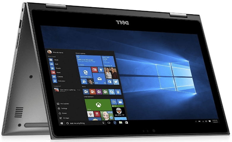 2 in 1 laptop tablets of the Dell Inspiron 13