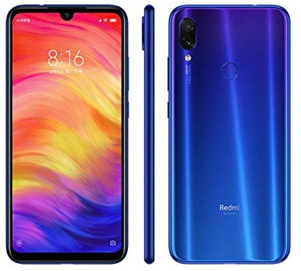 The Xiaomi Redmi Note 7 is one of the best good and cheap smartphones with good design.