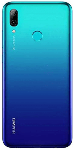 Back view of the Huawei P Smart