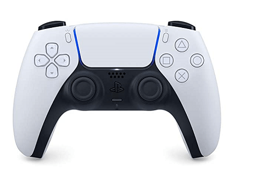 The new DualSense controller, new PlayStation 5 console