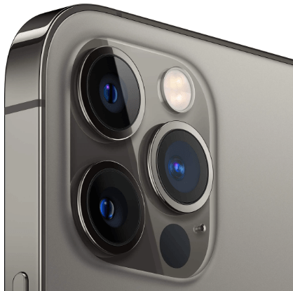 Triple-leans camera of the new Apple iPhone 12 Pro