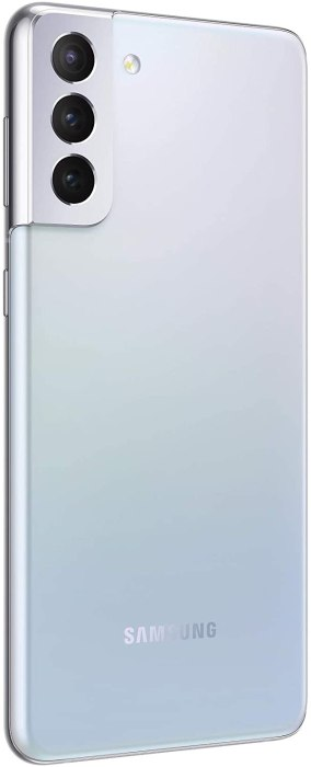 Back view of the Samsung Galaxy S21 Plus