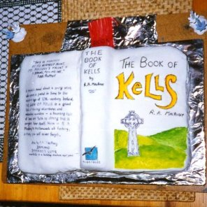 Book of Kells Cake by Janet McKnight