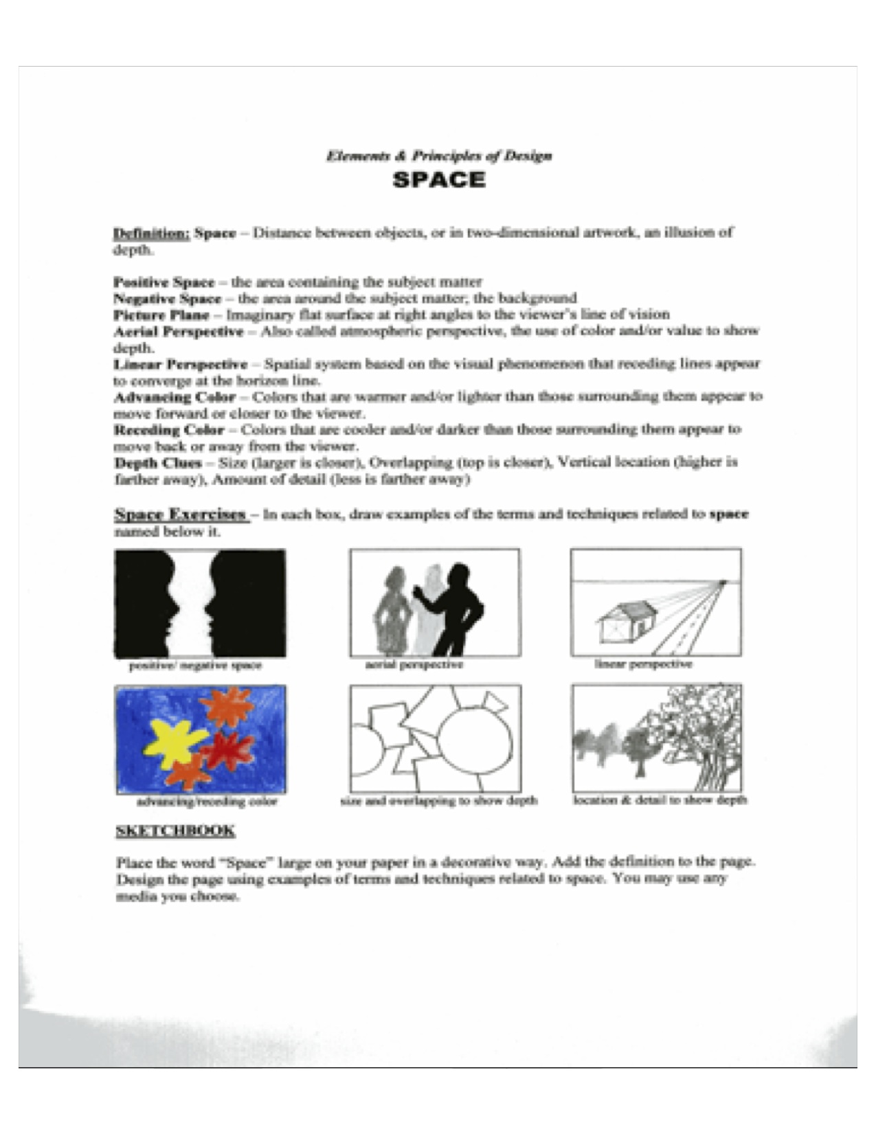Creative Movement Lesson Using Space And Movement To